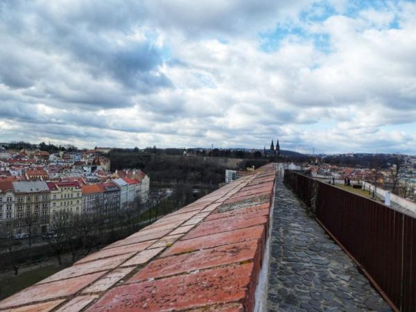 A walk along the fortification gallery
