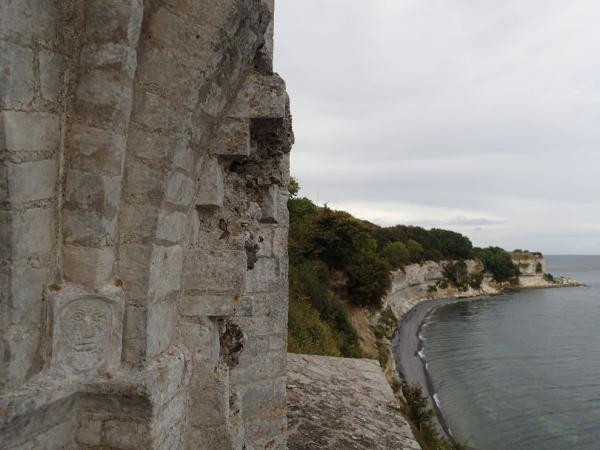 View from the places where the altar once stood