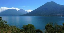 The most beautiful volcanoes of Guatemala