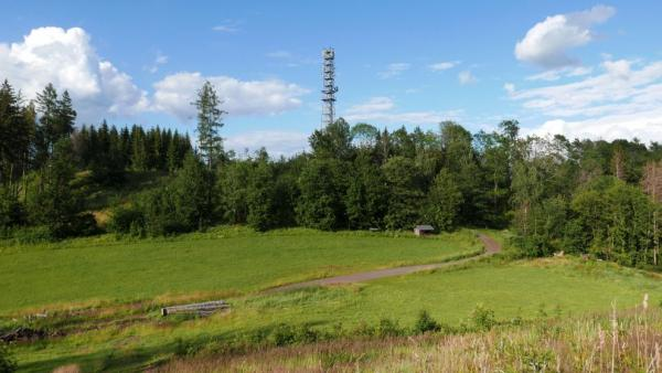 Lookout tower on Kozinec
