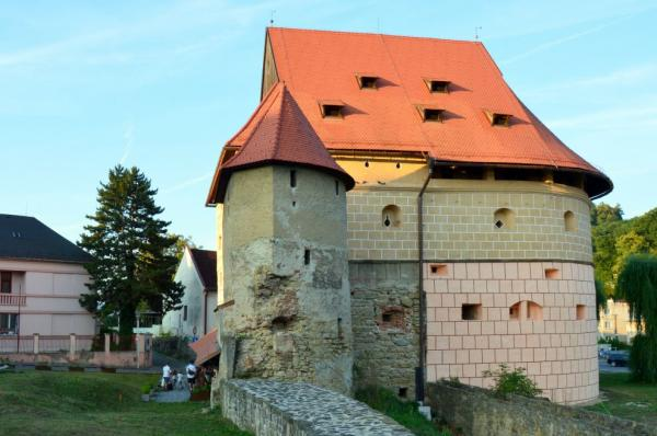 Fortified medieval town