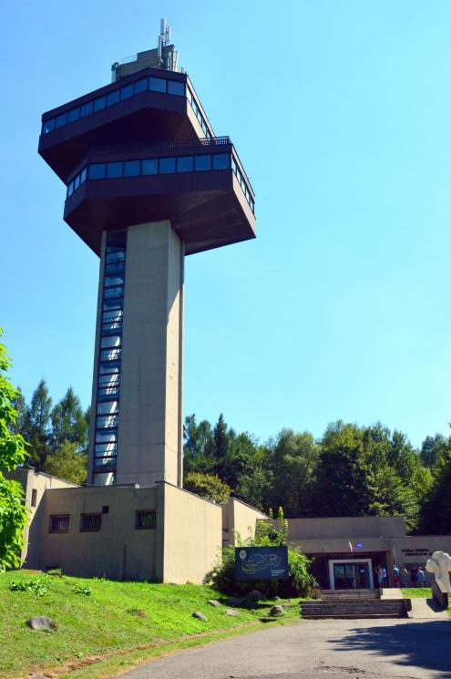 Observation tower with a military historical museum