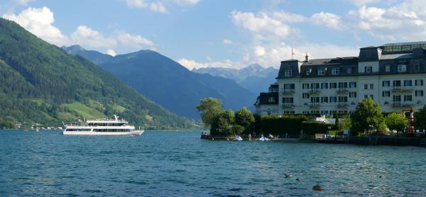View of the Grand Hotel Zell am See