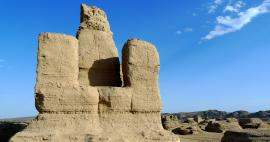 A tour of the ancient city of Jiaohe