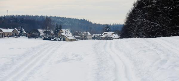 Cross-country circuit at Rozkoš
