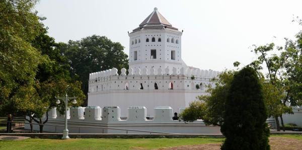 View from the park to the fortress
