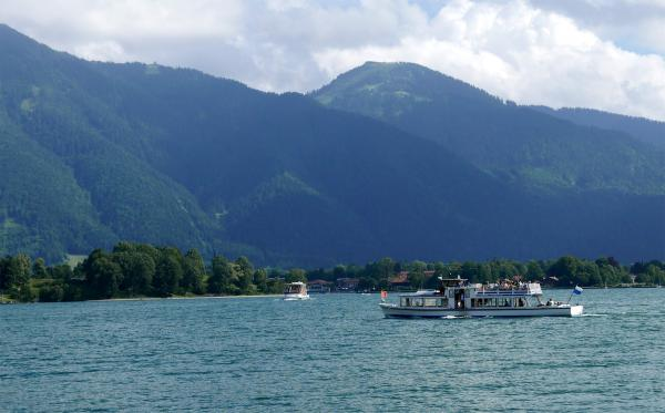 Boat cruises from Tegernsee