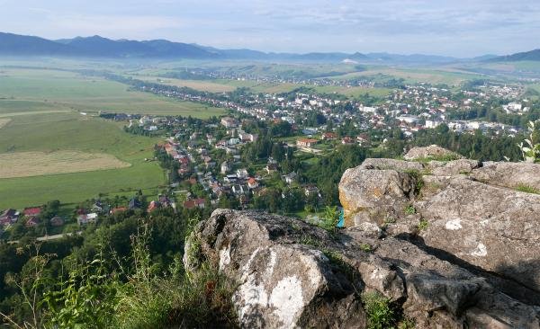 The first view of Rájecké Teplice