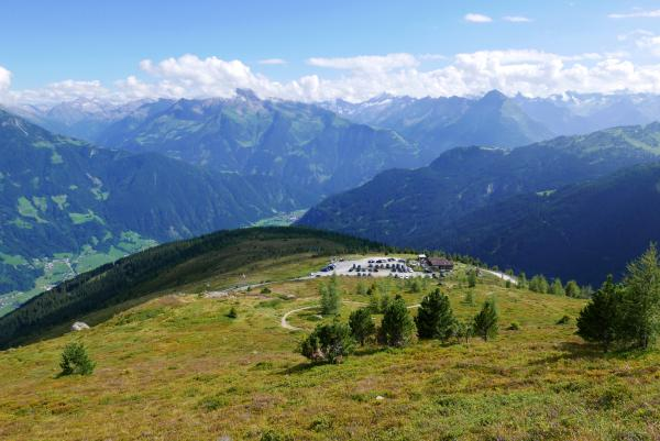 Amazing views of the Zillertal Alps
