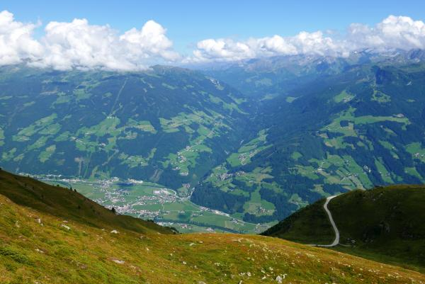 View of the Ziller Valley