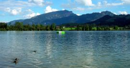 The most beautiful lakes in Bavaria
