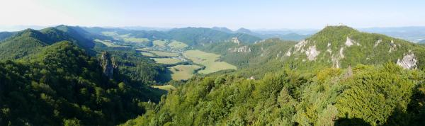 Panorama from the Roháč viewpoint