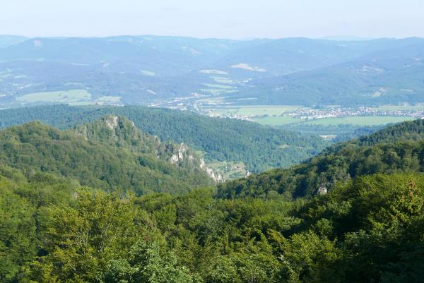 View of the Váh valley