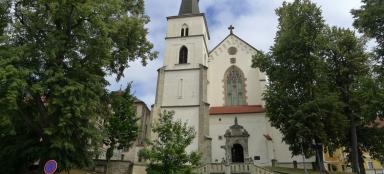 Church of the Dispatch of St. of the apostles in Litomyšl